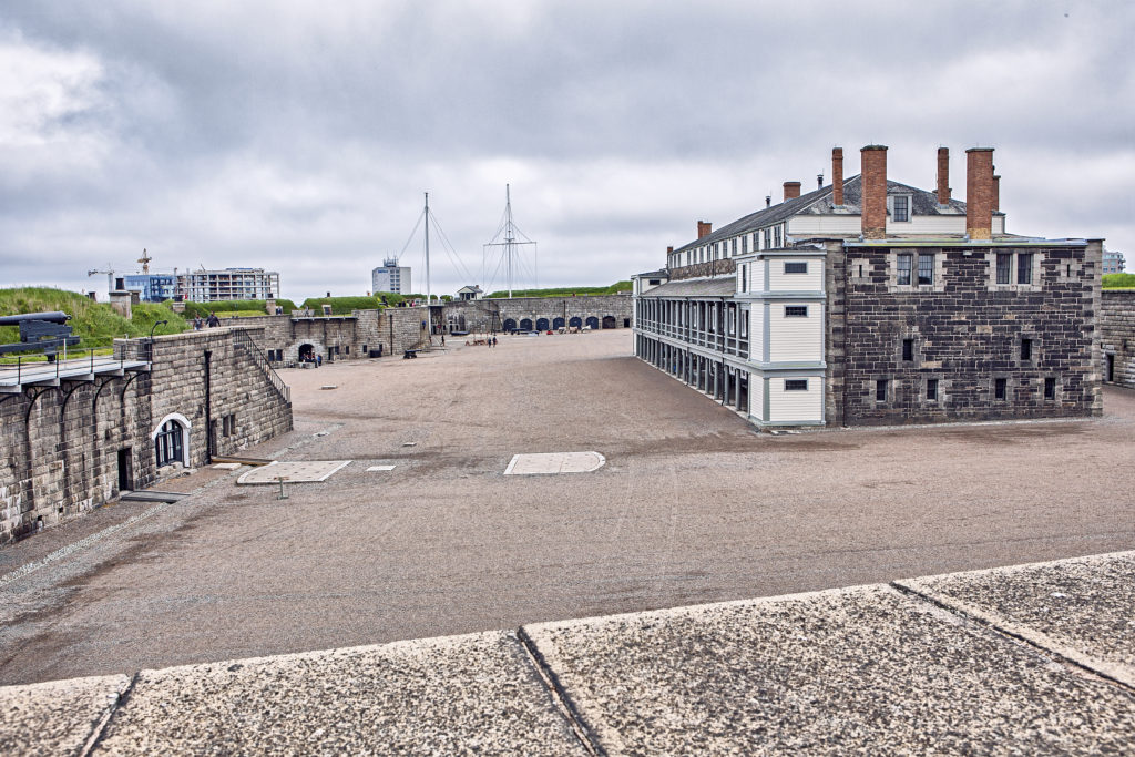 Halifax Citadel Barracks and Parade grounds