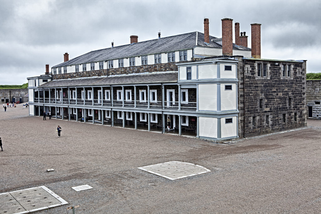 Halifax Citadel Barracks