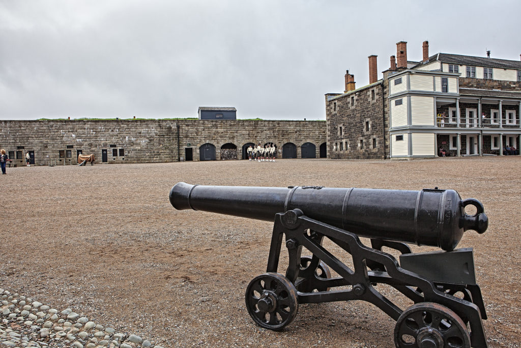 Halifax Citadel entrance canon