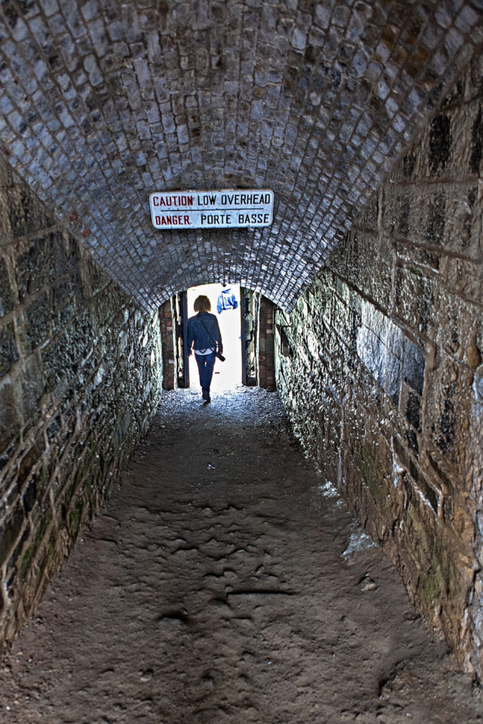Tunnel to outer walls of the  Halifax Citadel
